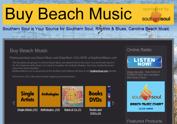 Buy Beach Music CDs