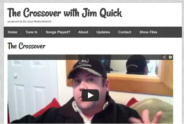 Crossover with Jim Quick