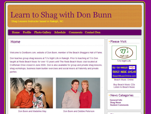 Don Bunn – Learn to Shag