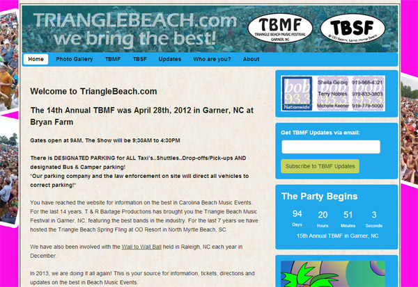 Triangle Beach Music