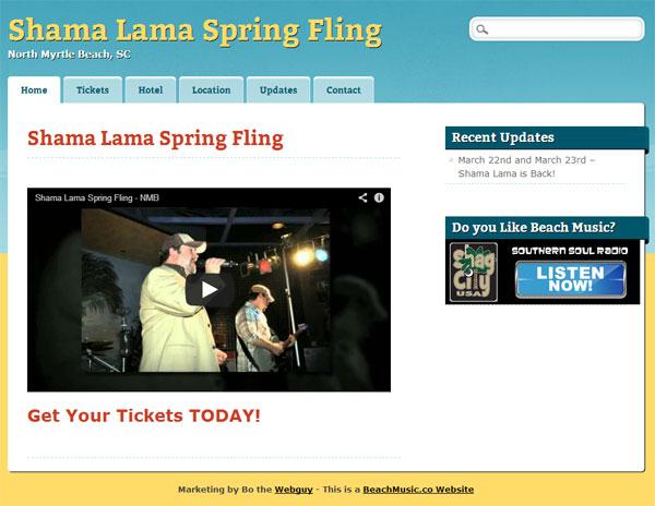 Shama Lama in NMB