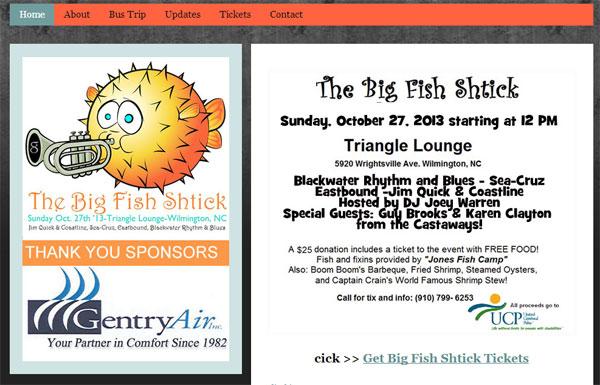 Jim Quick – Big Fish Shtick