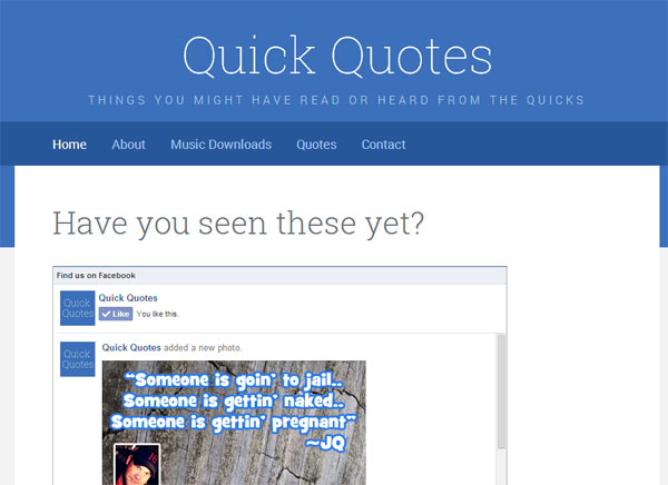 Quick Quotes Launched