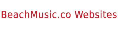 BeachMusic.co Websites